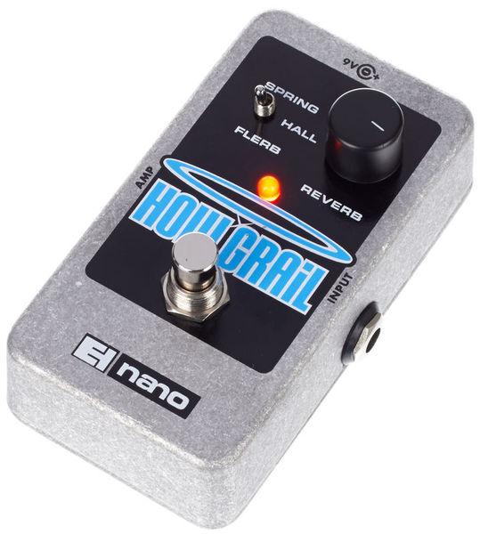 PEDAL ELECTRO-HARMONIX® GUITARRA REVERB NANO HOLY GRAIL   Ruiz Custom  Guitars